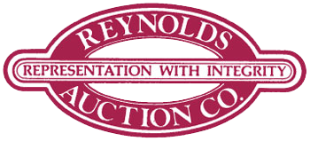 Reynolds Auction Co., Inc. logo - representation with integrity